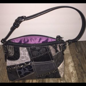 Super clean coach hand bag